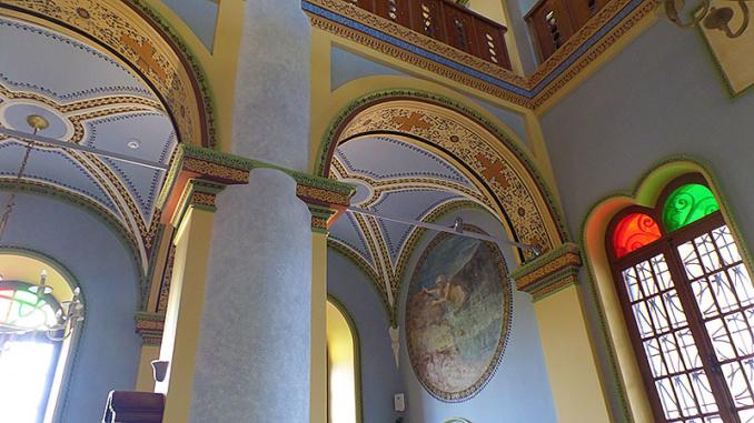 Das Kahmil-M-Koc Museum in einer alten Kirche