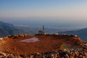 Waldbrand-Beobachtungsplatz auf dem Cakillica Kule Tepesi in 1500 Metern Höhe