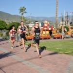 Läufer beim Internationalen Triathlon von Alanya. Bildquelle: Alanya Belediyesi